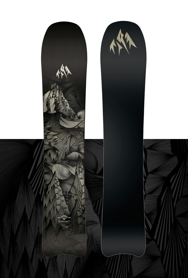 Jones snowboards by Joseph Toney