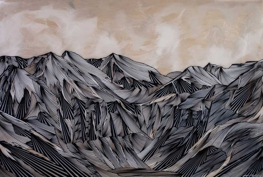 Joseph Toney Art - Telluride Valley, Colorado