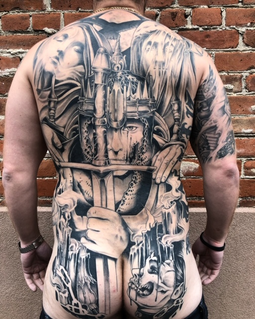 Back Tattoo. —Scott Santee