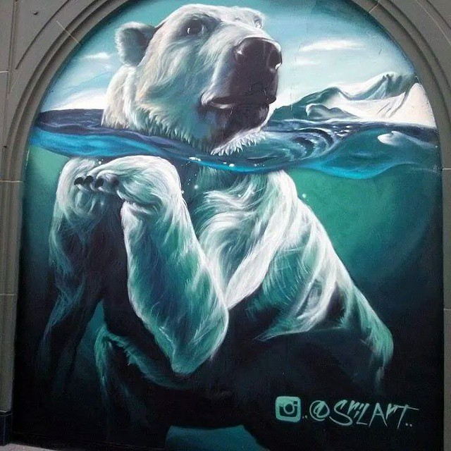 "Polar Bear by Shae ""SRIL"" Petersen"