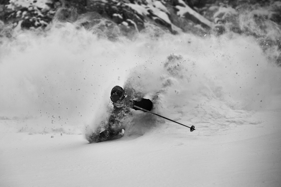 Pro Skier Todd Ligare. Photo: Christopher Whitaker